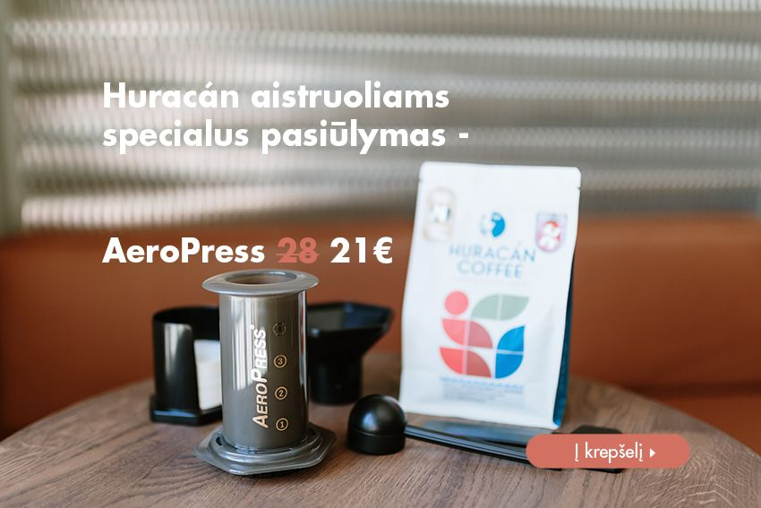 Aeropress Huracan Coffee
